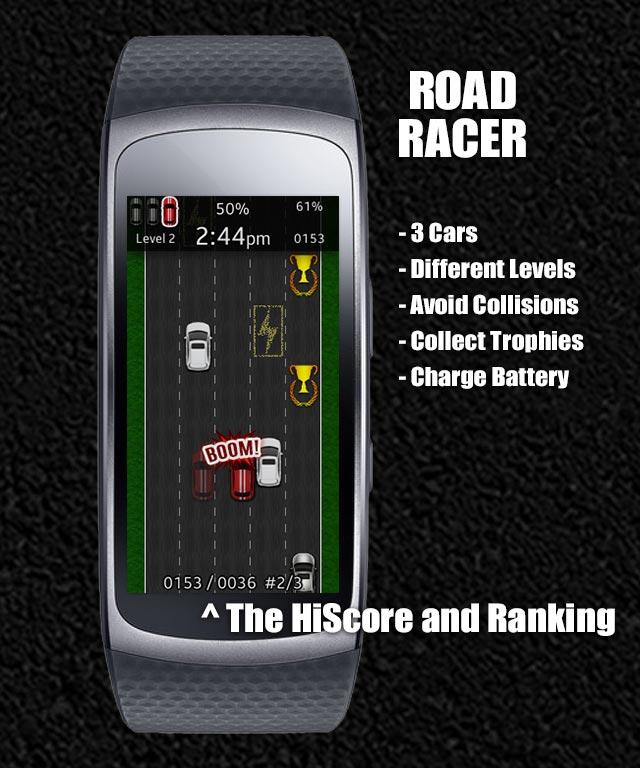 Road Racer Watch